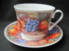 Kirkham Classic Fruit Cups and Saucers - Set of 2 - LIMITED QUANTITIES