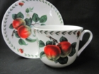 Kirkham Redoute Fruit Cup and Saucer - Set of 2 - LIMITED QUANTITIES