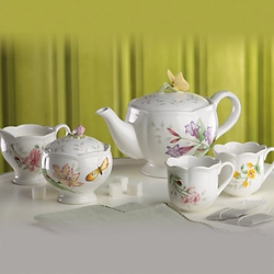 Lenox Butterfly Meadow Teen Tea Set