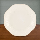 Lenox French Perle White Dessert Plates - Set of 4