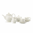 Lenox French Perle White Tea Set - 9 Pieces