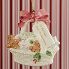 "Lenox ""From Our Home to Yours"" Basket of Cookies Ornament"