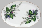 Lily of the Valley Bone China Tray
