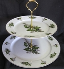 Lily of the Valley Fine Bone China - 2 Tiered Stand