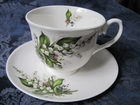York Lily Teacups - Set of 2