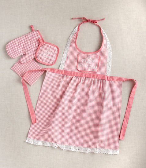 Little Princess Lace Apron - Girls Chef's Set