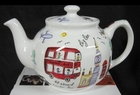 London Travel Teapot 6 cup - James Sadler