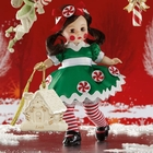 "Madame Alexander Personalized ""Peppermint Twist"" by Lenox"
