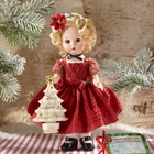 "Madame Alexander ""Personalized"" Wendy Wishes You a Merry Christmas Doll"
