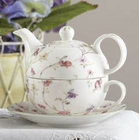 Plum BlossomPorcelain Teapot for One- 2 LEFT IN STOCK