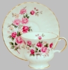 Old English  Rose Vintage Collection Cup and Saucer - 2 Sets