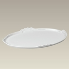 Oval Scrolled Edge Tray