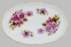 Pansy Bone China Tray
