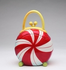Peppermint Purse Cookie Jar