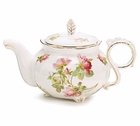 Pink Royal Rose Teapot
