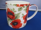 Poppy Mugs - Set of 6  Low Inventory Alert