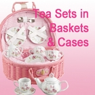 Children's Tea Sets with Storage