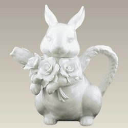 Porcelain Collectible Rabbit Teapot
