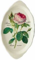 Redoute Rose Bone China Tray - Roy Kirkham -
