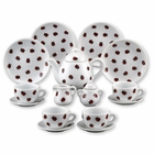 Reutter Mini Porcelain Ladybug Tea Set