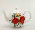 Rose and Poppy Teapot