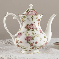 Rose Chintz Porcelain Tea Pot