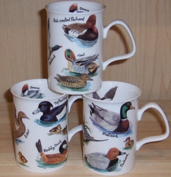 Roy Kirkham - Ducks Bone China Mugs -