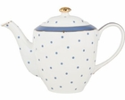 Royal Blue Dot Teapot