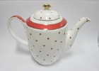 Royal Red Dot Teapot