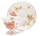 Royal Rose Tea Cups - Set of 2