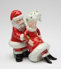 Santa and Mrs. Claus Salt and Pepper Shakers
