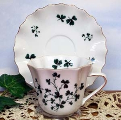 shamrock Amelia Tea Cup - Set of 2