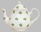 Shamrock Bone China Teapot - 6 Cup
