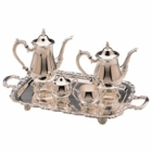 Silver-Plated 5 Piece Coffee or Tea Set
