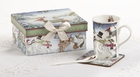 Snowmen Mug Set with Gift Box
