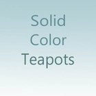 Solid Color Teapots