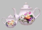 Spring Garden Heirloom Bone China Teapot - 6 cup