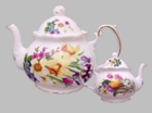 Spring Garden Heirloom Bone China Teapot