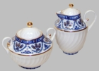 St. Petersburg Russian Imperial - Covered Creamer and Sugar
