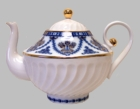 Russian Imperial Porcelain St. Petersburg Teapot - 20 Ounces