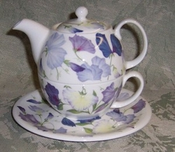 Sweet Pea Lilac Tea for One -