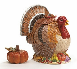 Thanksgiving Turkey Teapot -
