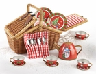 Tin Christmas Tea Set for Children