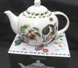 Victorian Fruits Teapot with Box - Limited  Supply - 1 in Stock