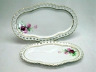 Victorian Rose Trays - Set of 2 - 5 Left in Stock