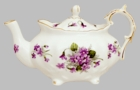 Violets Victorian Teapot by Heirloom - 6 Cup