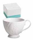 White Lace Teacup - Set of 2