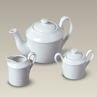 White Porcelain Children's Tea Set