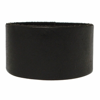 "1 1/2"" Wide Leather Wristband"