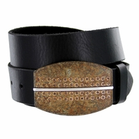 100557 Belt Buckle Casual Jean Leather Belt